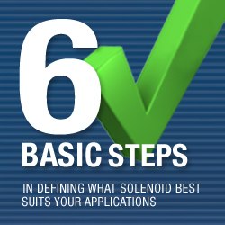 6 Basic Steps in Defining What Solenoid Best Suits Your Application